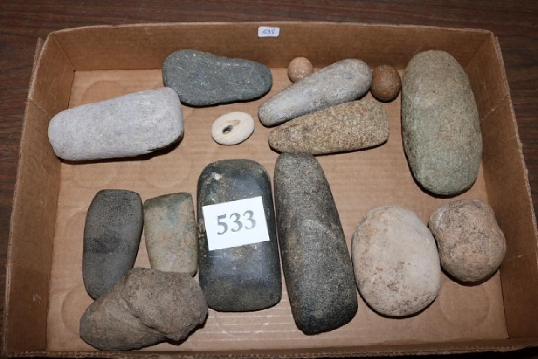 15 Stone Items: Celts, Gameballs