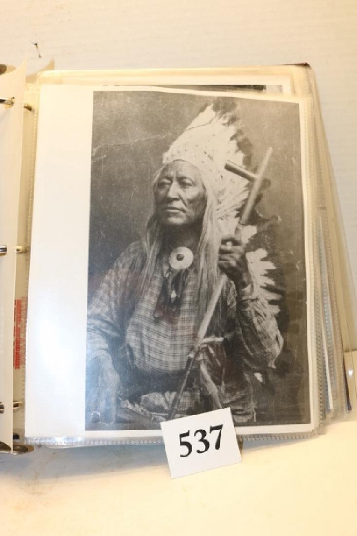 Photo Album Post Cards /photos of Indians