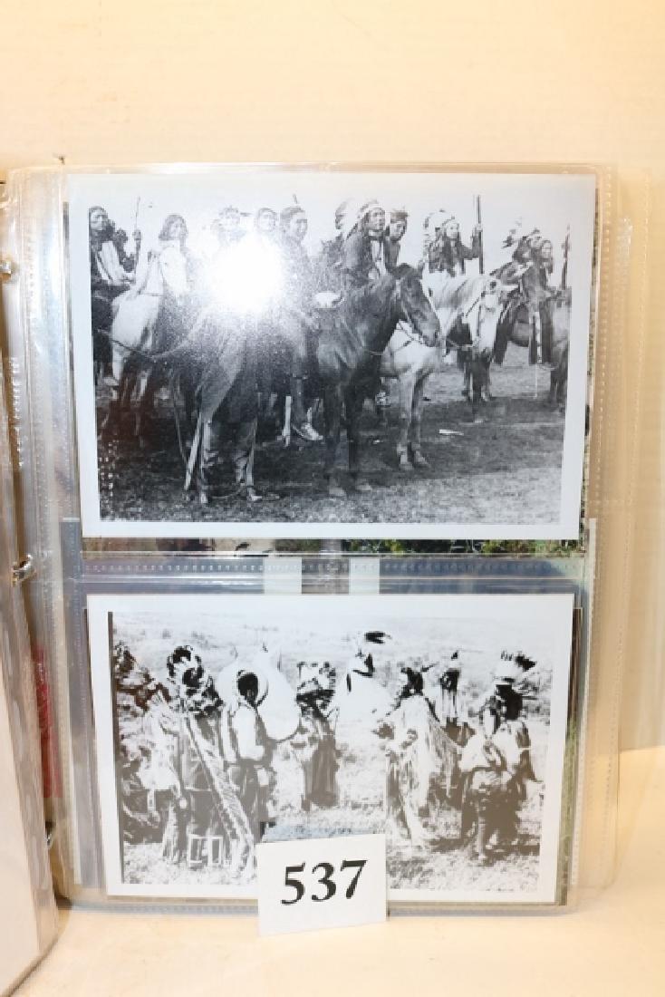 Photo Album Post Cards /photos of Indians - 2