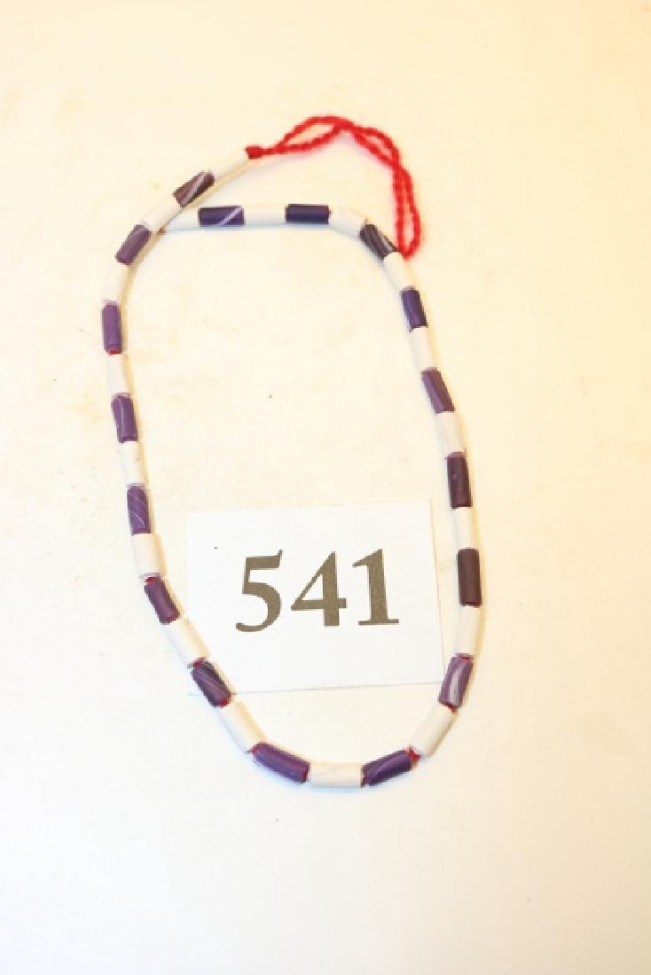 Wampum Beads, Blue & White 35 Beads
