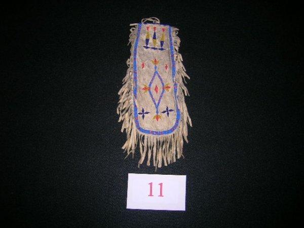 11: Santee Sioux Tobacco Bag