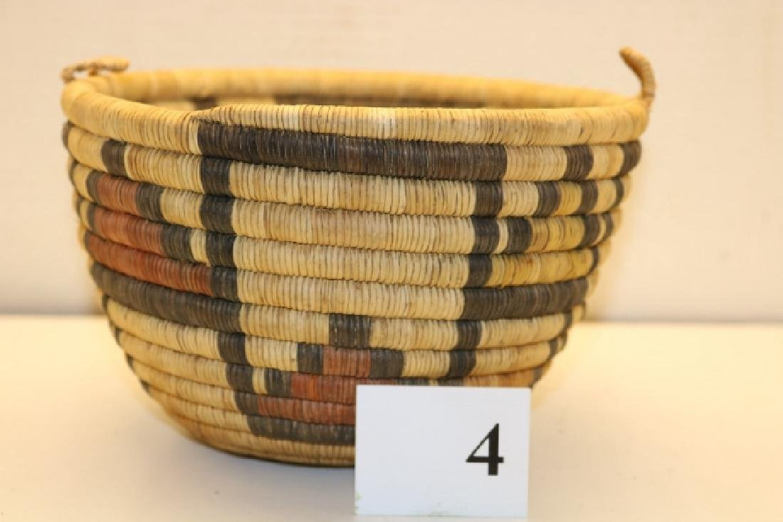 Hopi Polychrome Basket Bowl