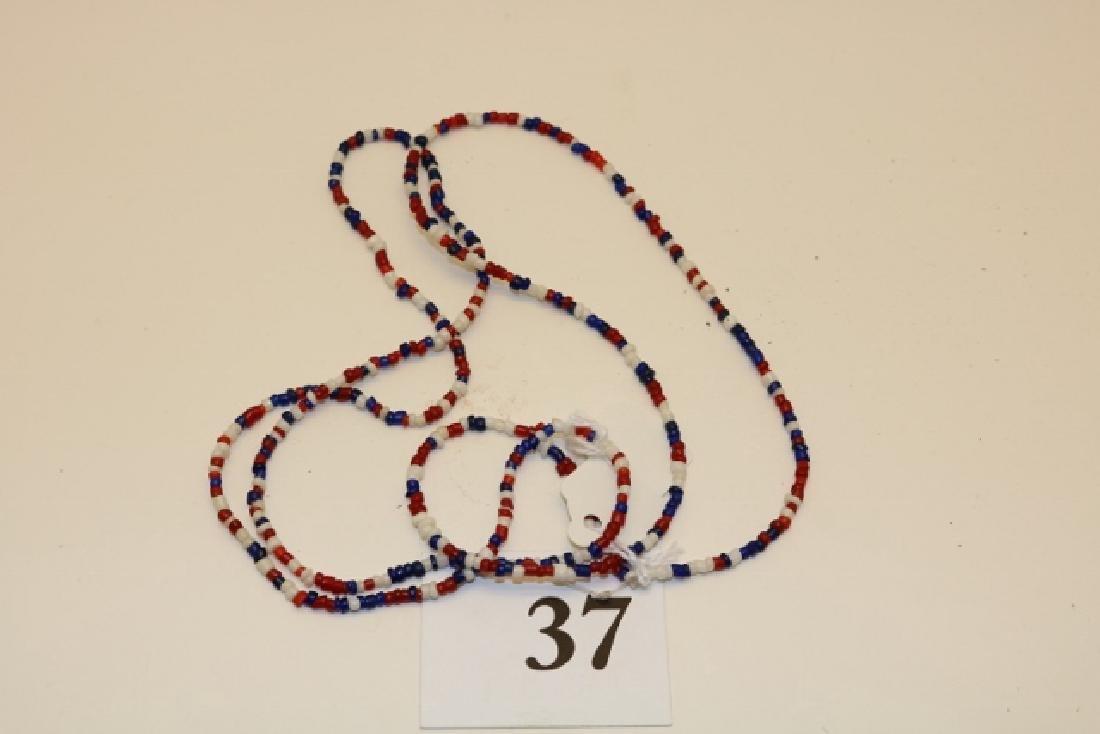 Trade Bead Multi Colored Necklace