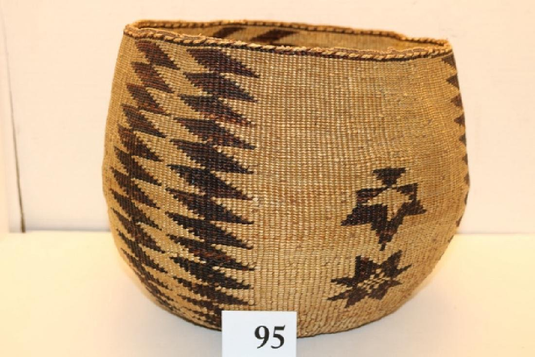 Calif. Basket Container