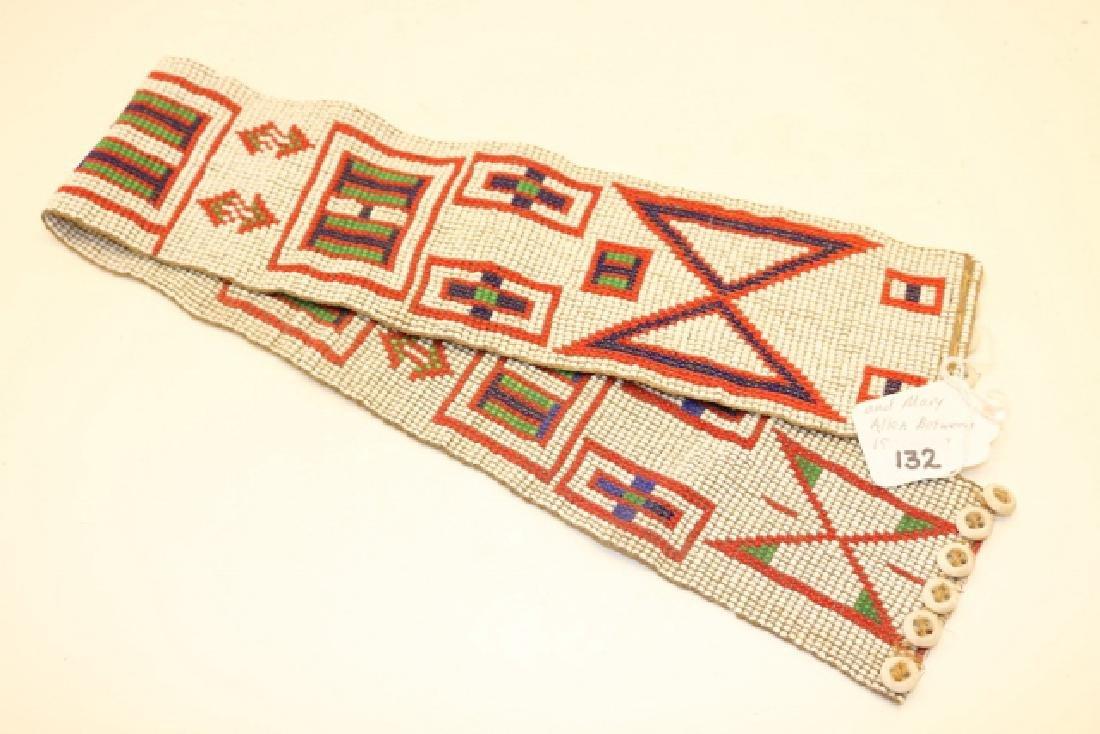 Beaded Canadian Indian Belt