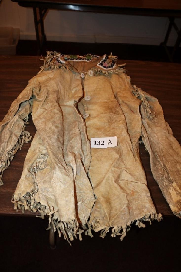 Eastern Woodland Iroquois Breast Plate and belt