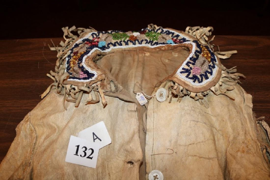 Eastern Woodland Iroquois Breast Plate and belt - 2