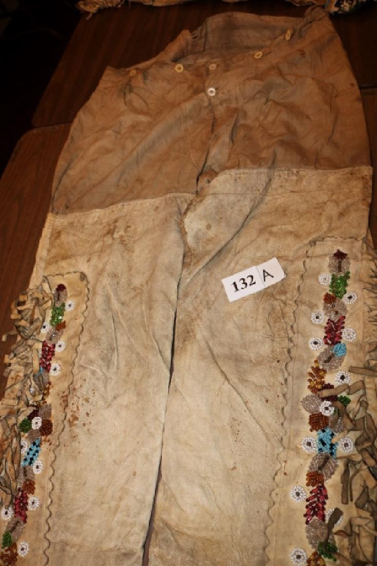 Eastern Woodland Iroquois Breast Plate and belt - 3