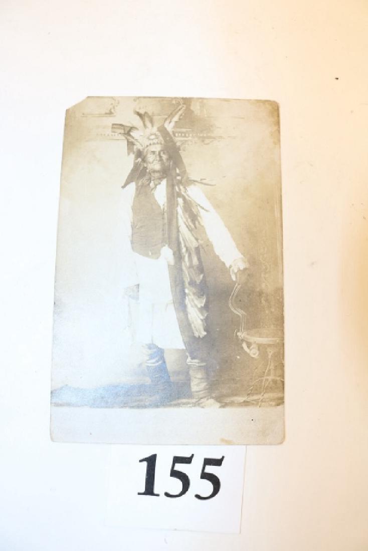 Rare Photo – Card Geronimo
