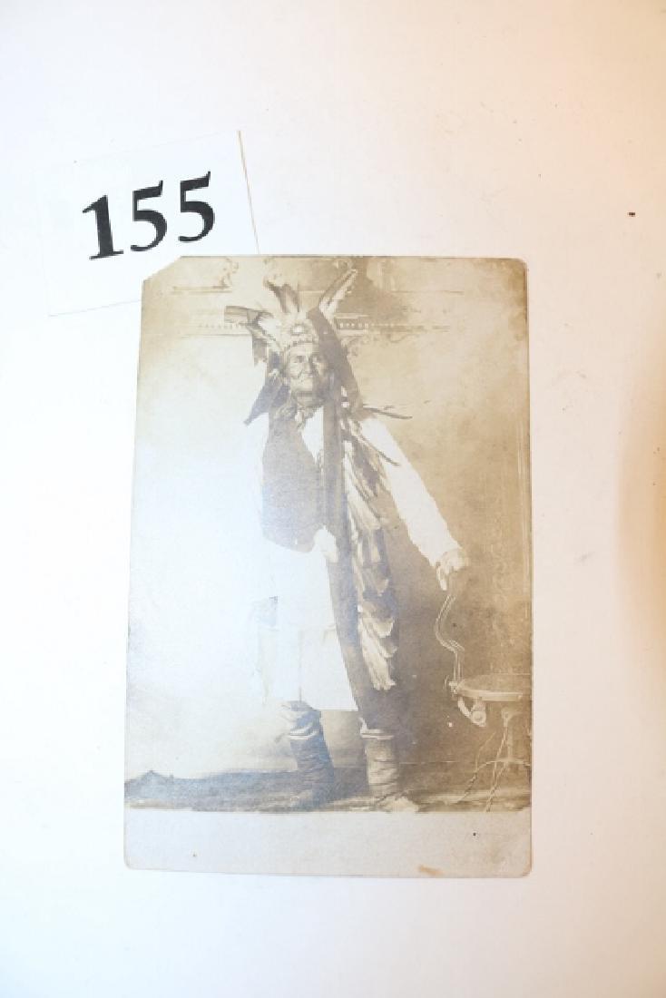Rare Photo – Card Geronimo - 2