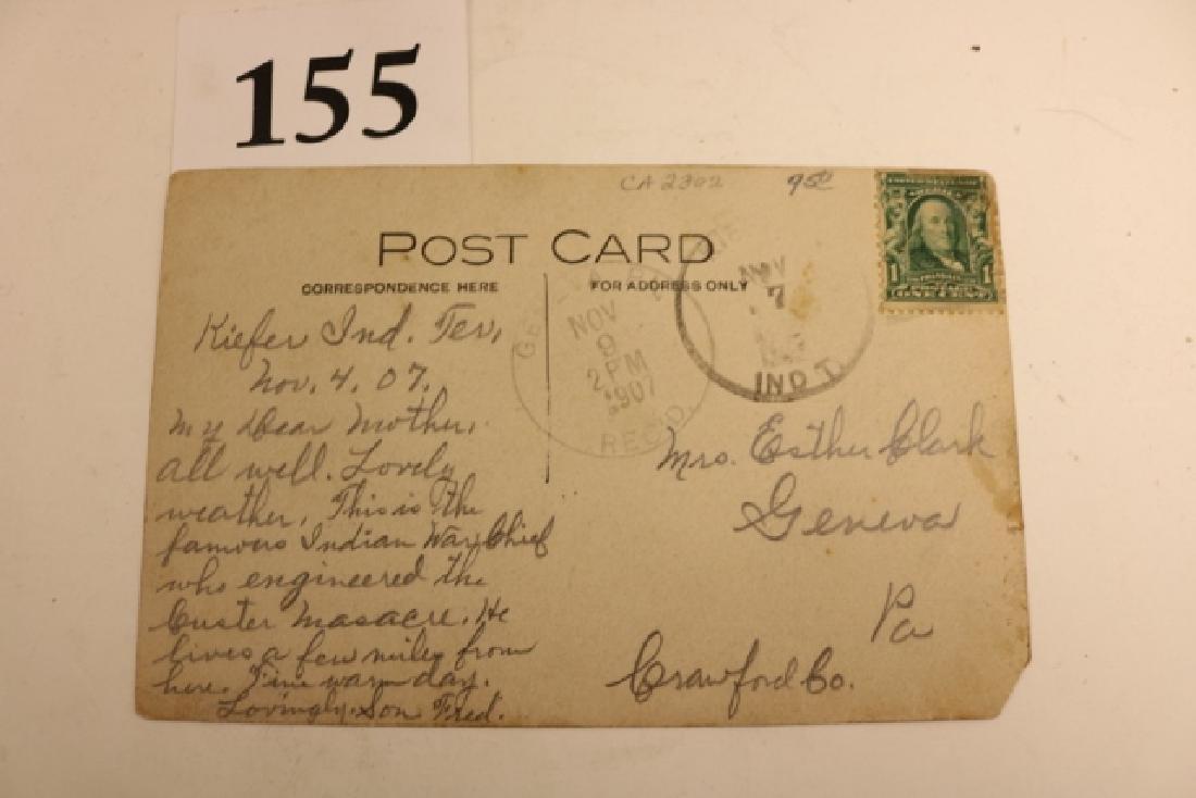 Rare Photo – Card Geronimo - 3