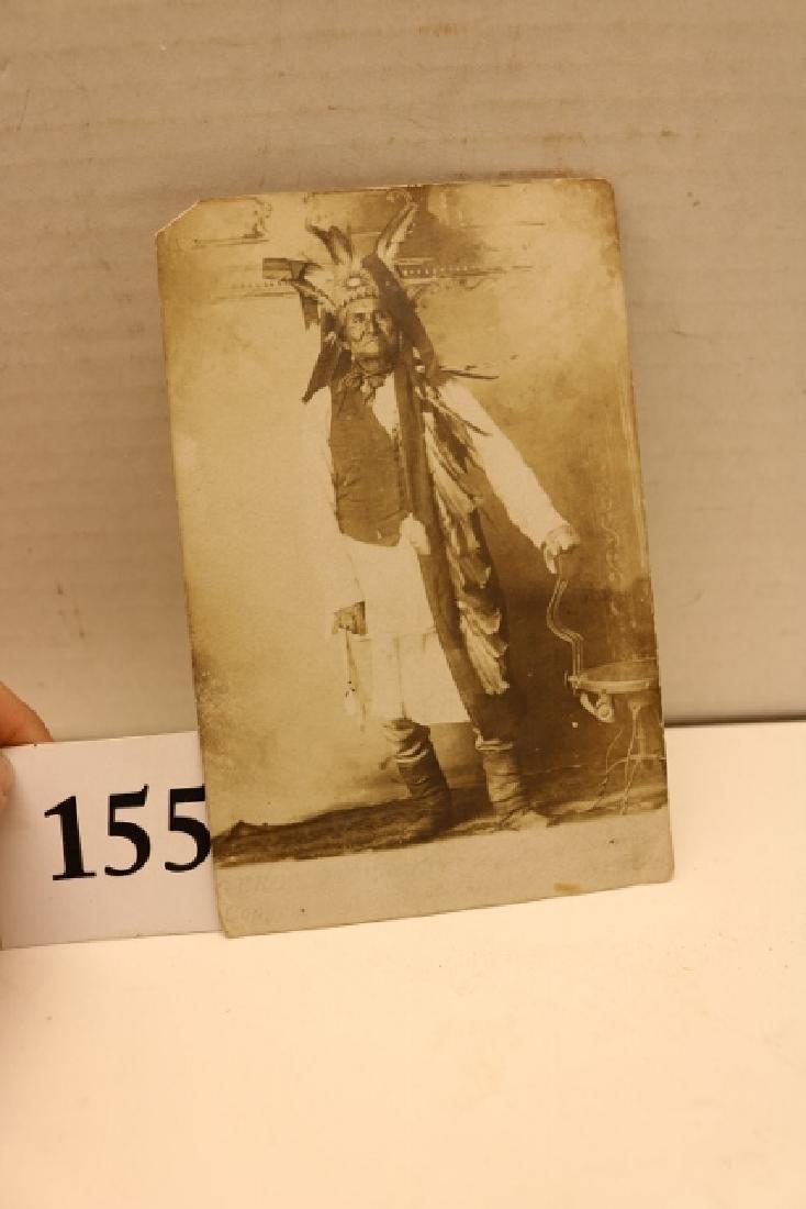 Rare Photo – Card Geronimo - 4