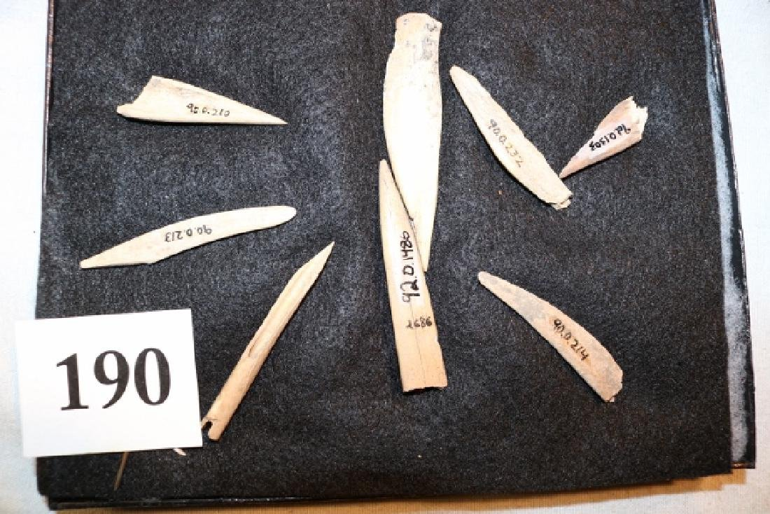 Frame with 8 Bone Points & Awls