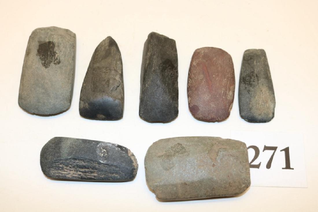 7 Miniature Celts