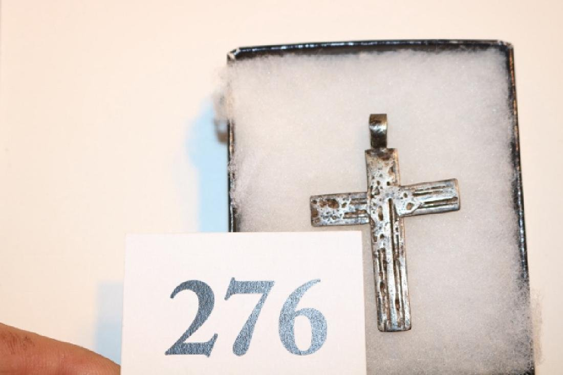 18th Century Silver Cross - 2