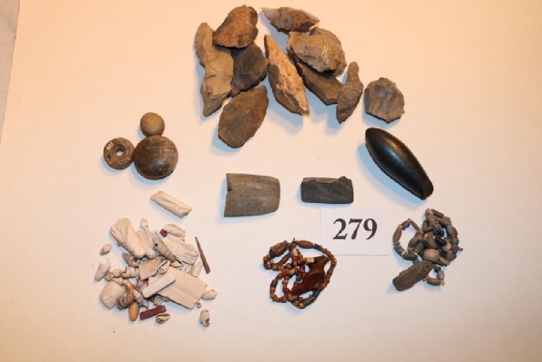 2 Strands Egyptian Beads