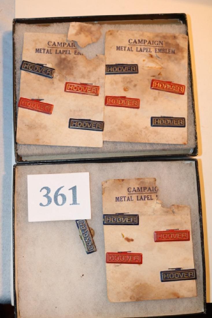 13 Hoover Metal Label Emblems