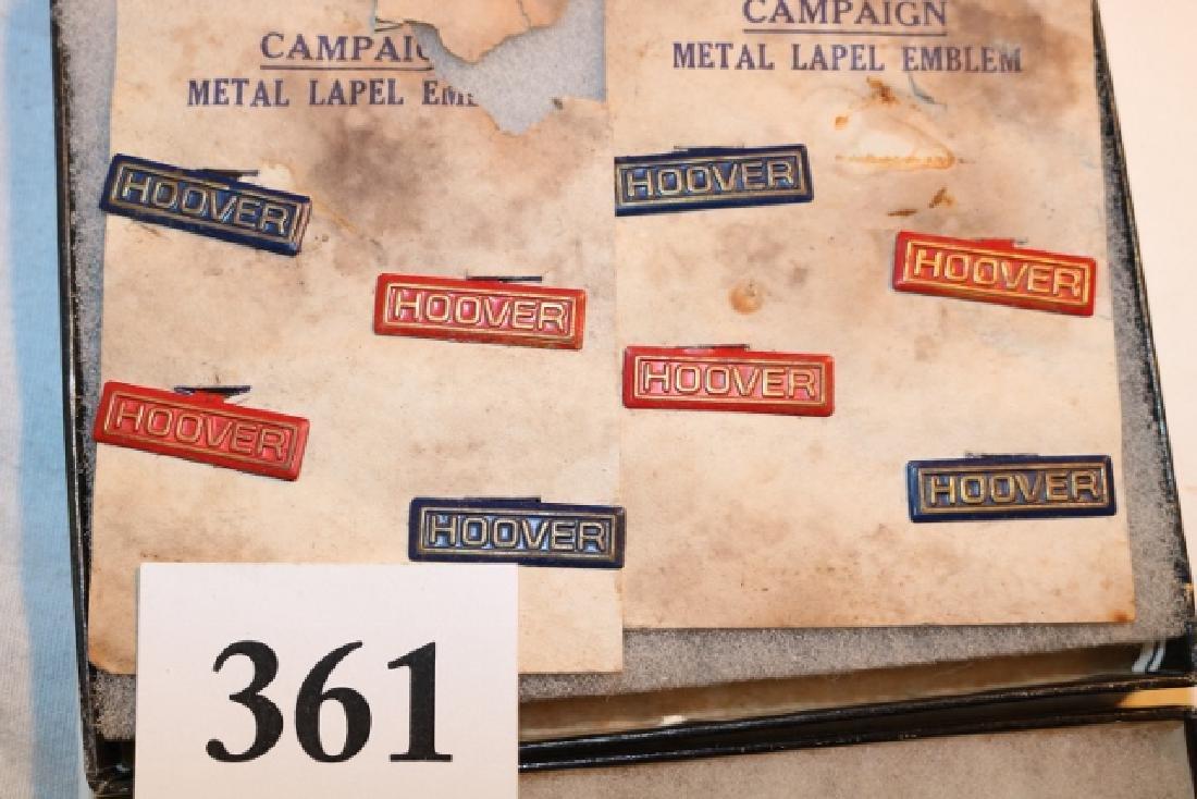 13 Hoover Metal Label Emblems - 2