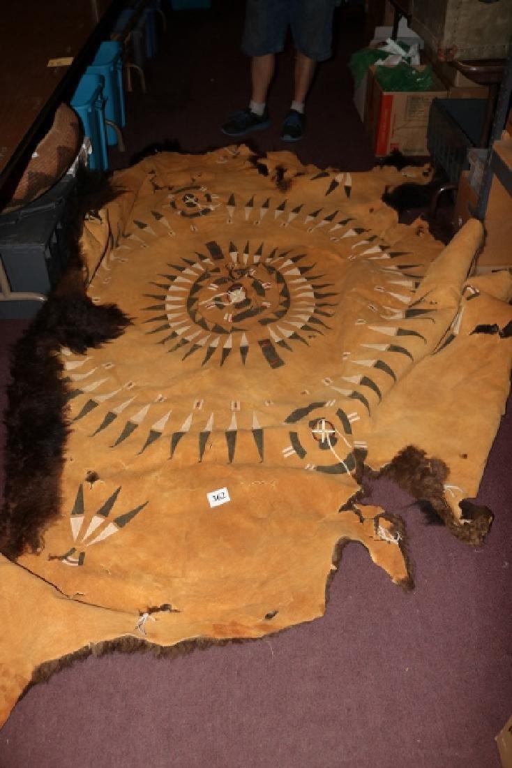 Painted Buffalo Robe