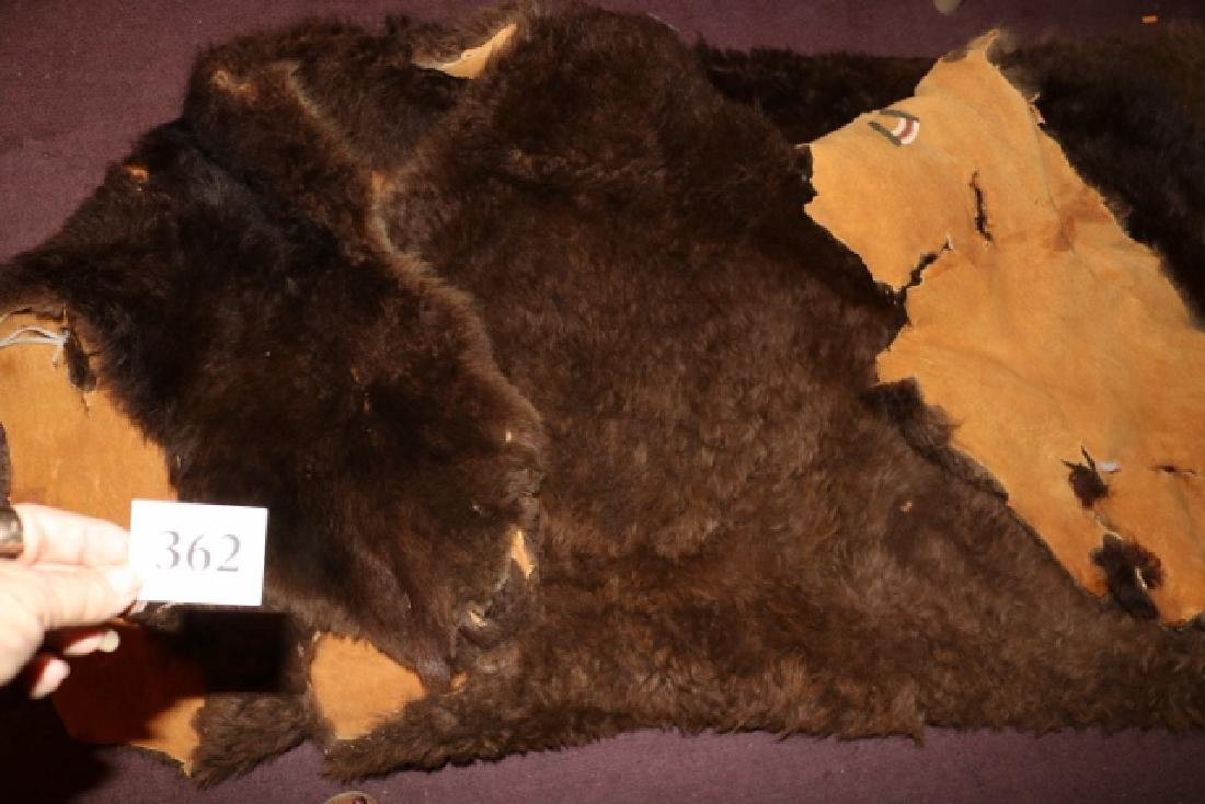 Painted Buffalo Robe - 5