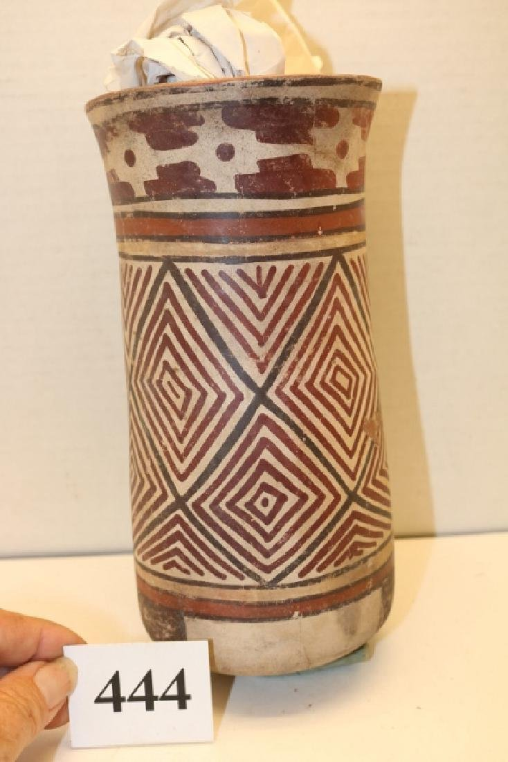 Polychrome Cylinder Jar