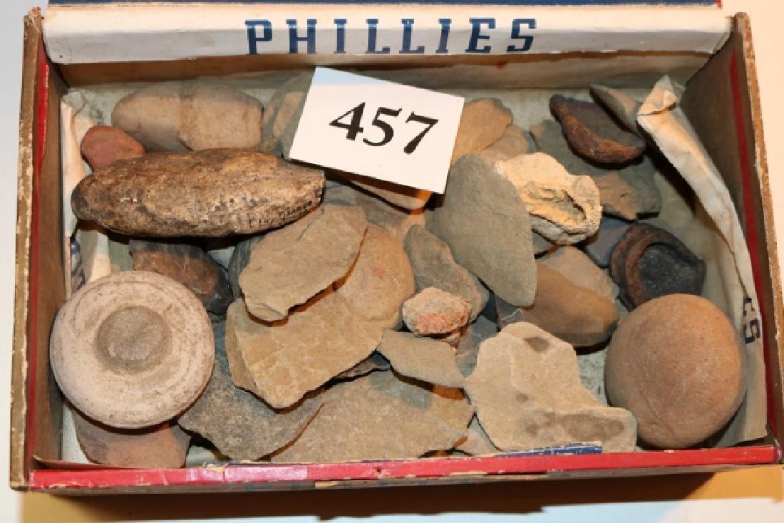 Cigar Box with Fossils – Rocks