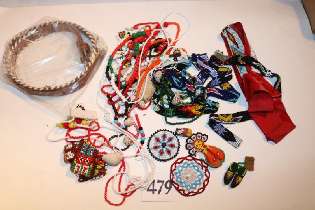 Box of Strings of Beads, necklaces