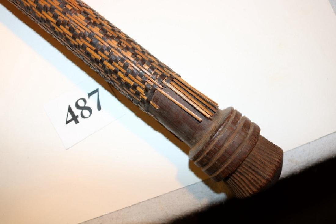 "32 ½"" Carved Club, Chief's Club - 3"