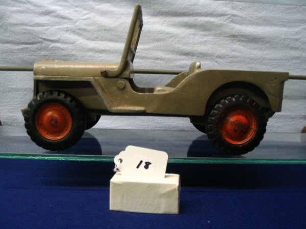 18: Willys Cast Iron Jeep