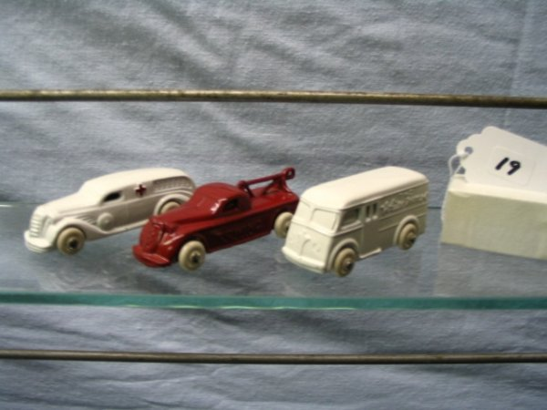 19: 3 Barclay Type Vehicles