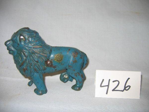 426: Arcade Lion – Blue #755