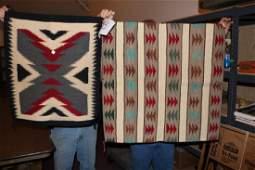 2 Navajo Textiles  Rugs