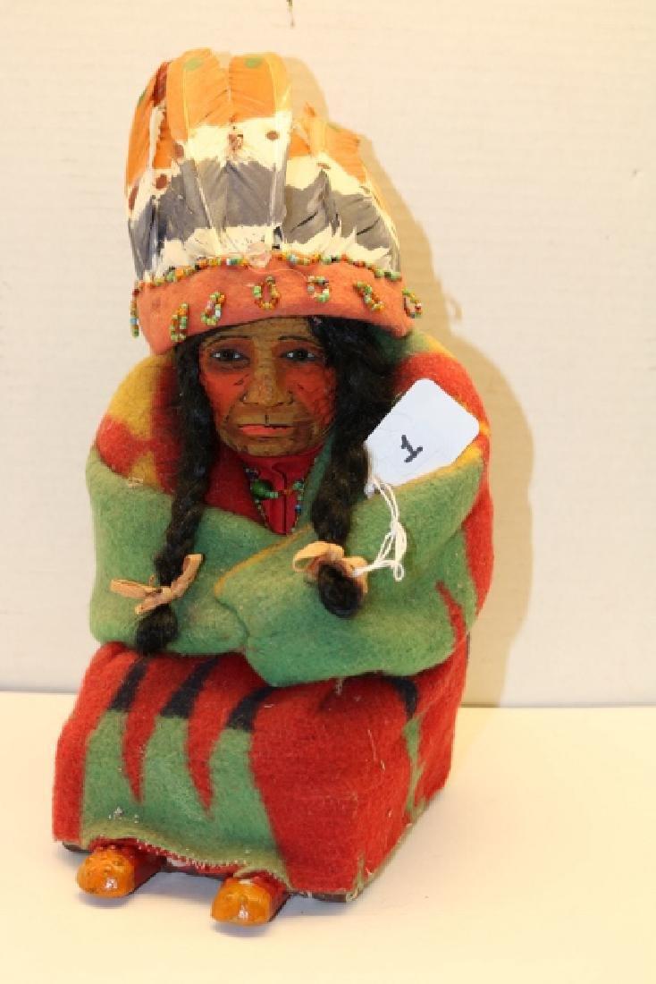 Seated Skookum Doll