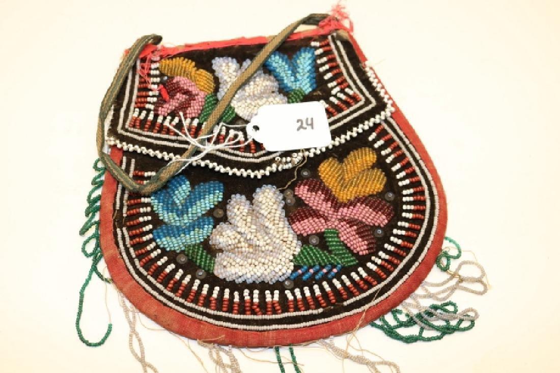 Beaded Iroquois Bag