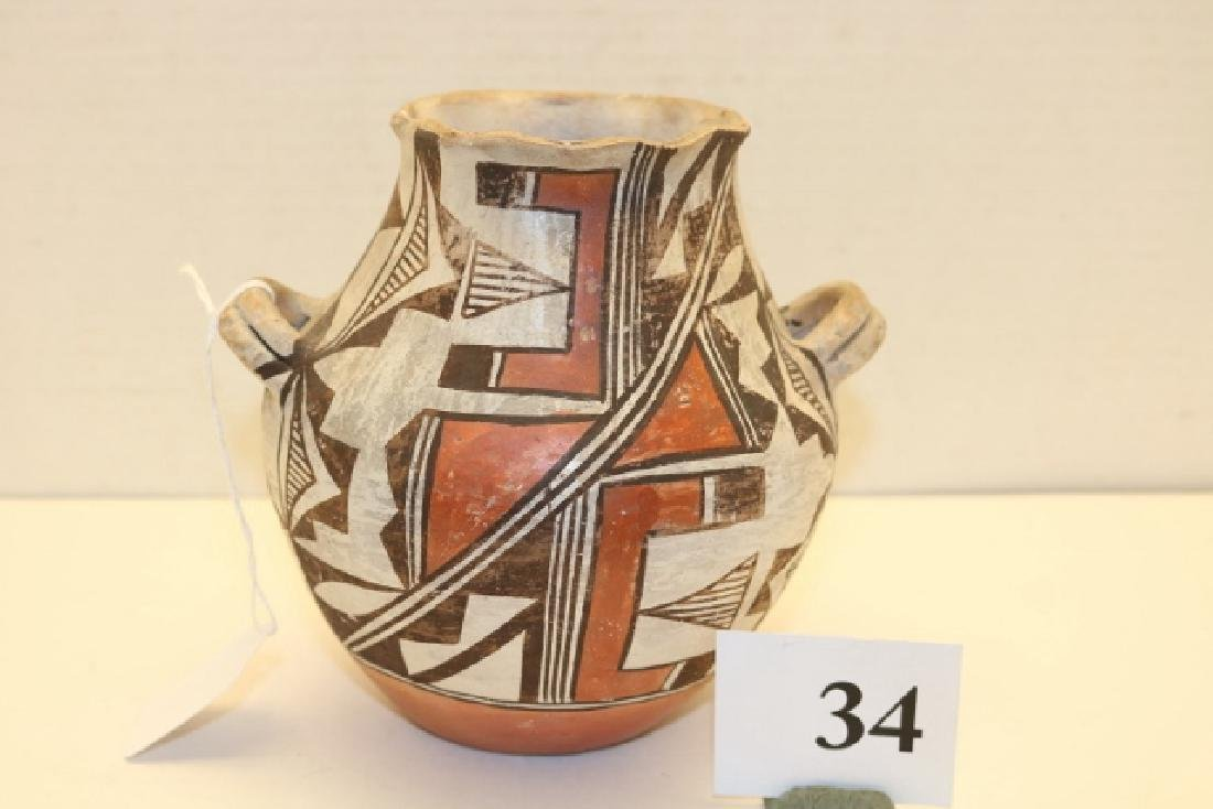 Handled Acoma Jar