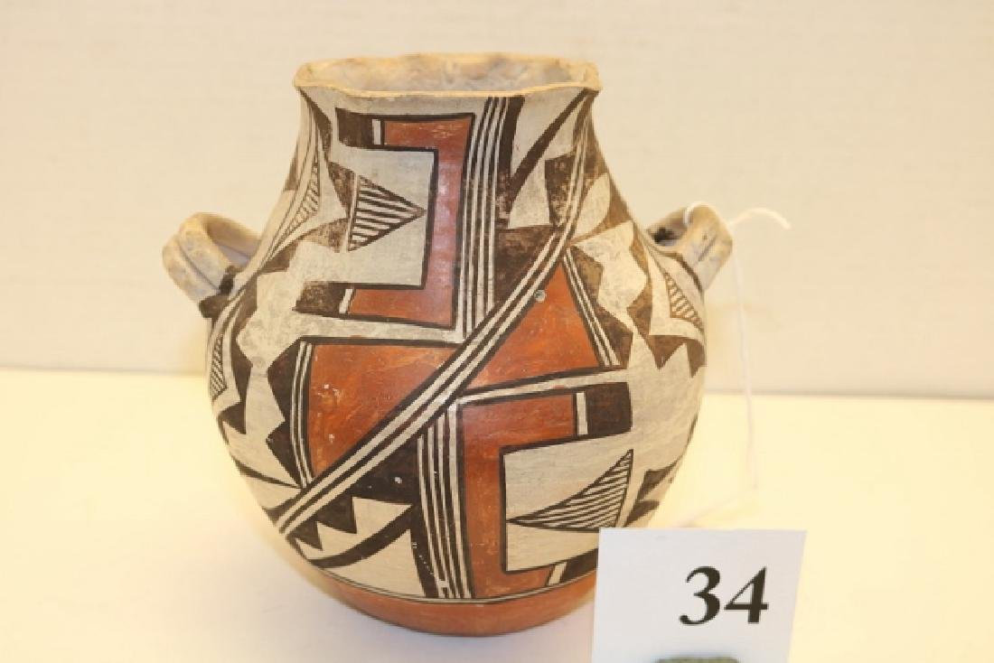 Handled Acoma Jar - 2