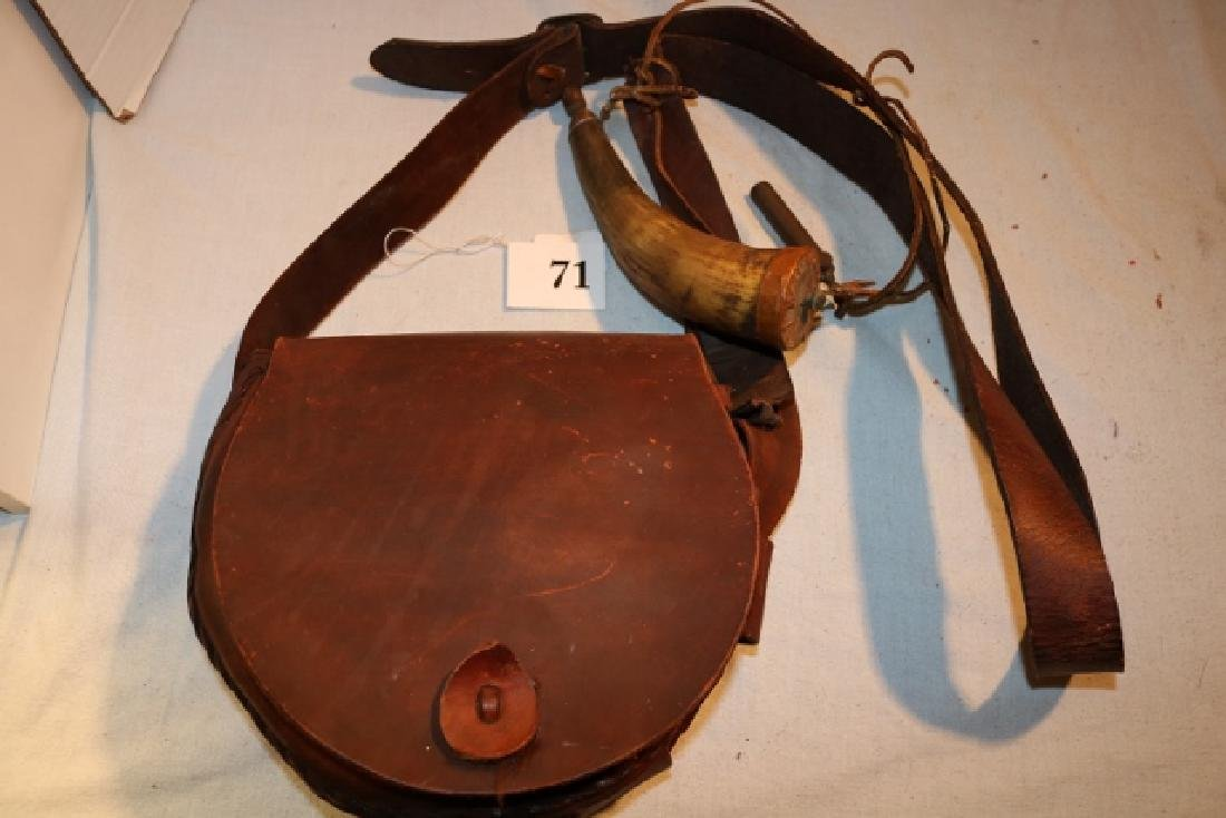 Saddle Leather Hunter's Bag NO SHIPPING OUT OF COUNTRY