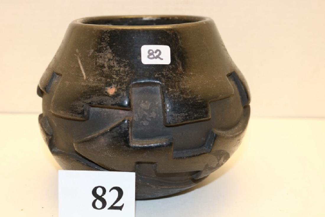 Carved Olla