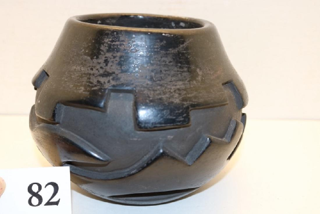 Carved Olla - 2
