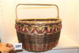 New England Indian Basket