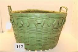 Handled Plaited Basket