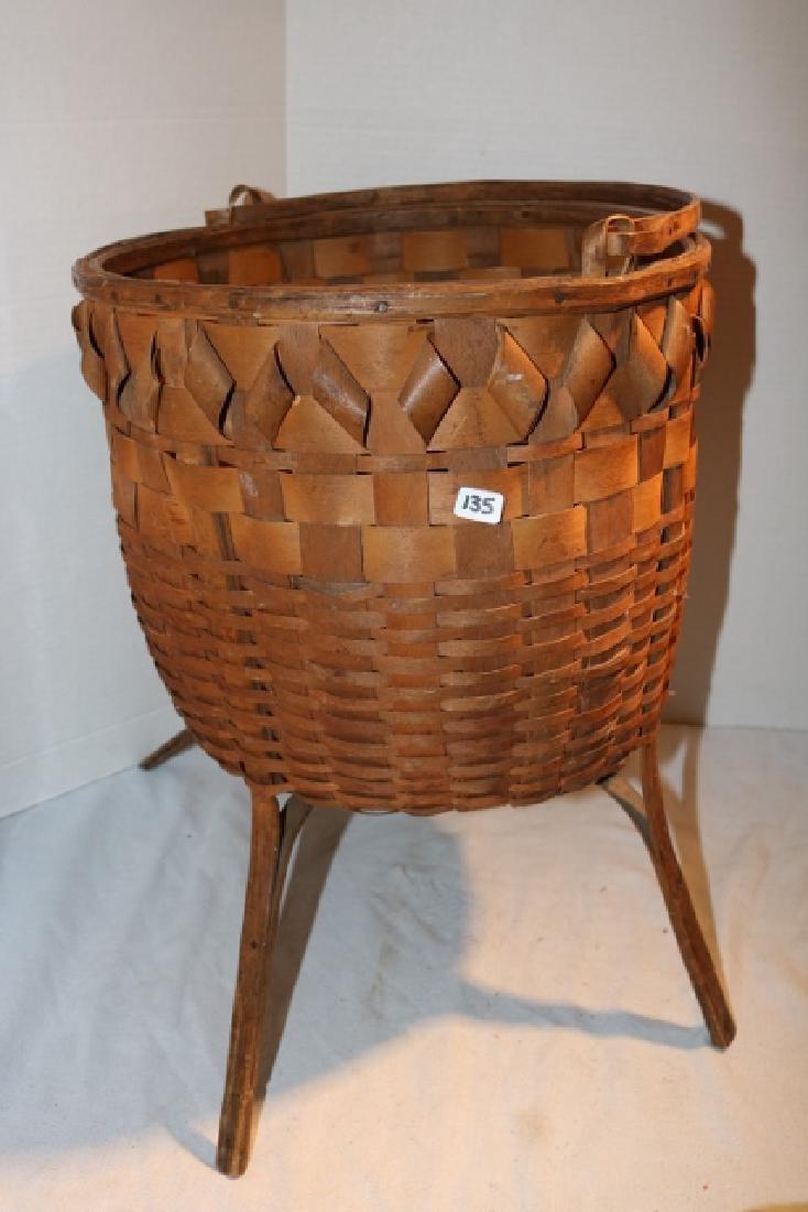 Iroquois Plaited Basket