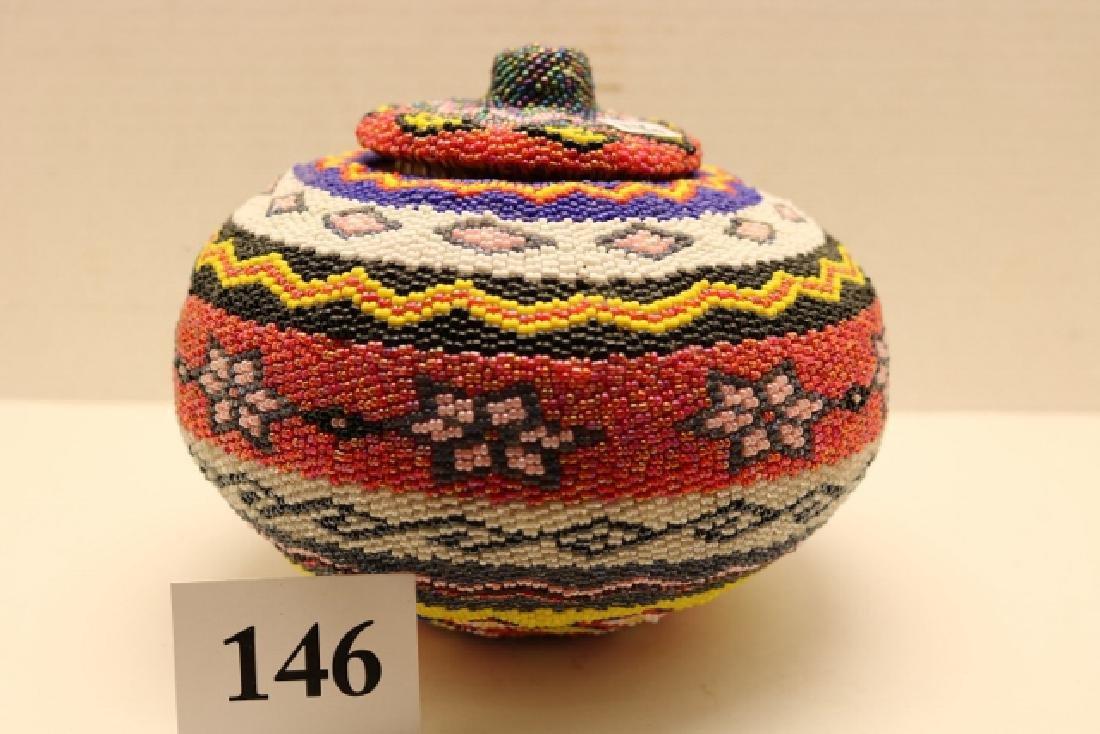 Lidded Paiute Basket