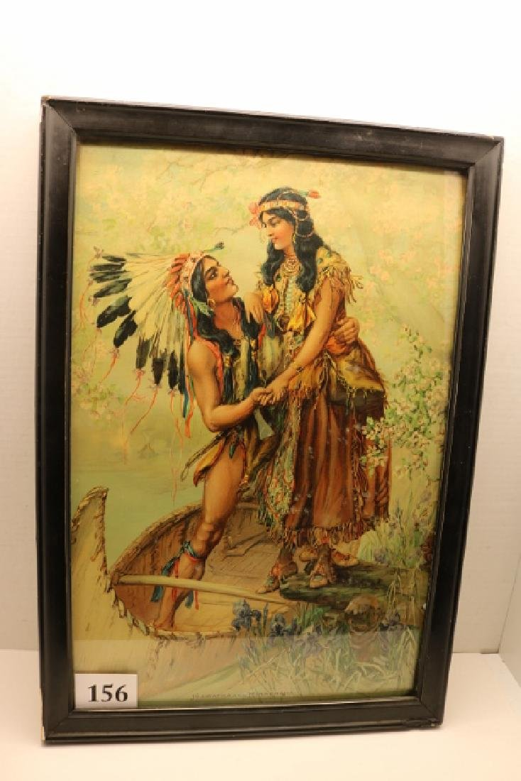 Framed Hiawatha Print