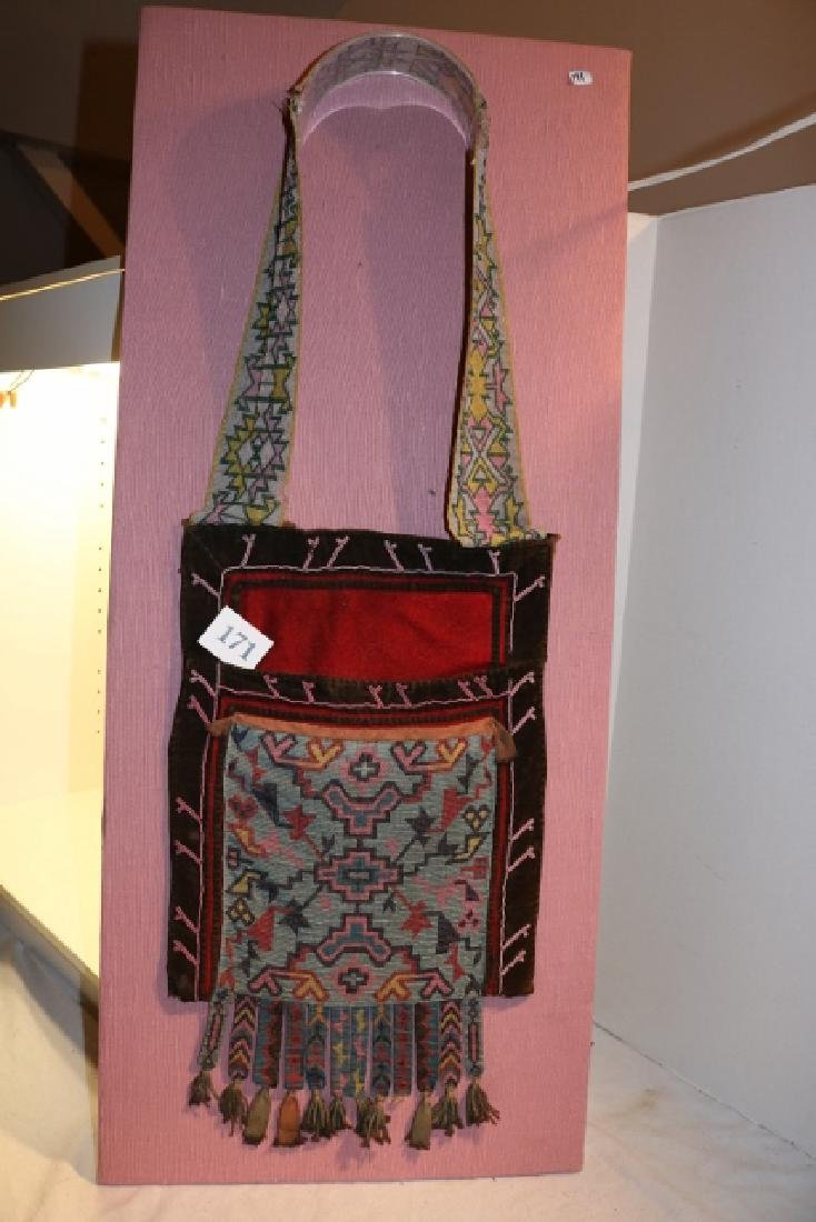 Beaded Strap Pottawamie Bandelier Bag