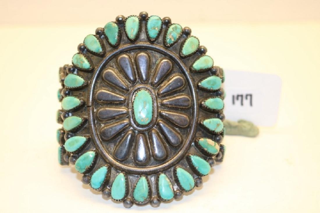 Turquoise Inset Bracelet