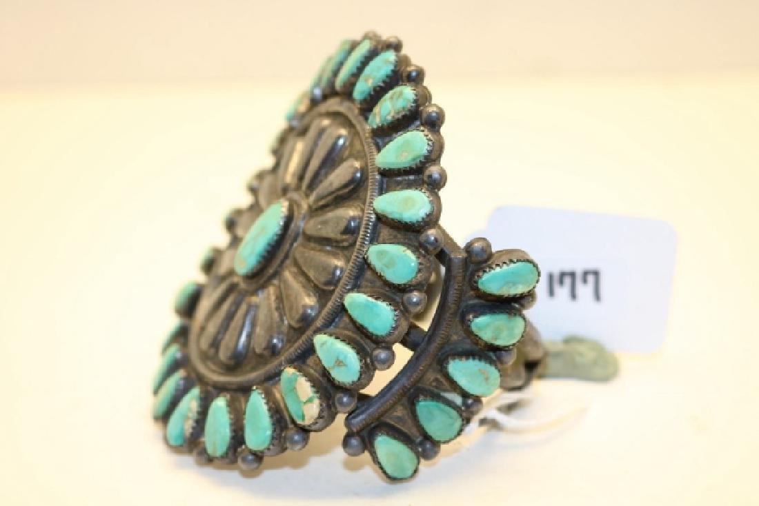 Turquoise Inset Bracelet - 2