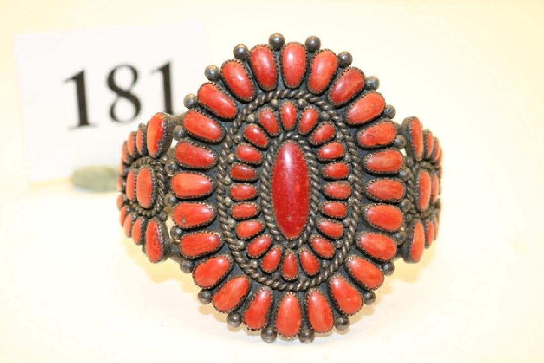 Coral Bracelet Pettipoint
