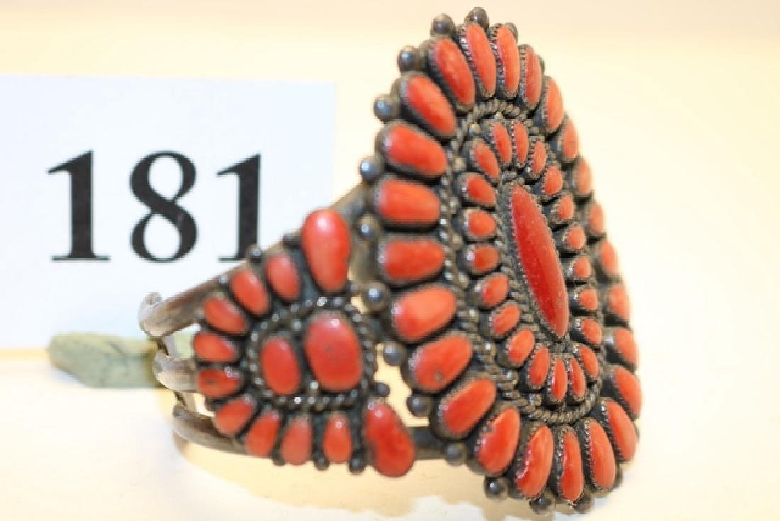 Coral Bracelet Pettipoint - 2