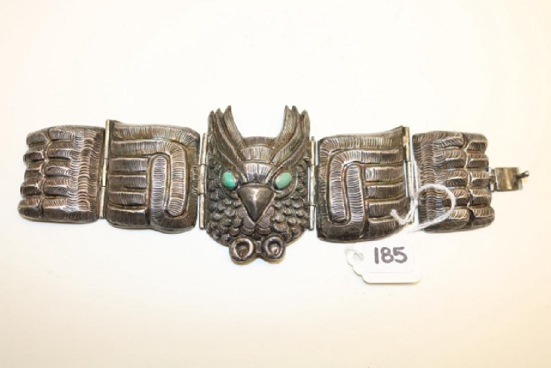 Mexican Crafted Owl Bracelet 5 Pc.